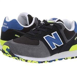 NEW Balance GC 574 Shoes Trainers Sport Boys SZ 5